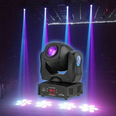 Tomshine 80W DMX512 Sound Control 8 Colors Changing  LED Stage Lamp