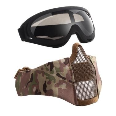 V12 + X400 Halbmasken- und Brillenset