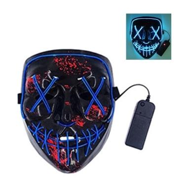 LEDs Leuchtende Gesichtsblitzmasken