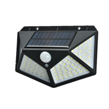 100 светодиодов 1200 мАч солнечные фонари на открытом воздухе солнечные датчики движения