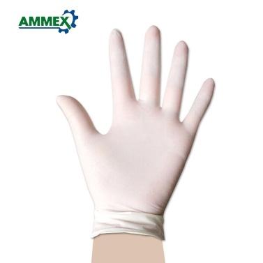 100 Stück / Packung AMMEX Einweg-Latexhandschuhe
