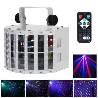 Luzes da iluminação da fase do projetor do diodo emissor de luz de Lixada 24W RGBW
