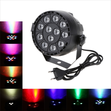Lixada 15W RGBW LED Stage PAR Lumière