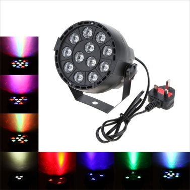 Lixada 15W RGBW LED Stage PAR Light,limited offer $13.99