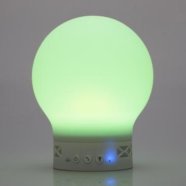 Smart Tiger  Wireless BT Musik Lautsprecher Sound-Box Magic Lamp Picker Multicolor ändern LED Lichter Farbunterstützung Freisprech-Aufruf für iPhone Samsung