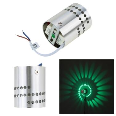 Modern Minimalist Aluminum Spiral Lighting LED Wall Light