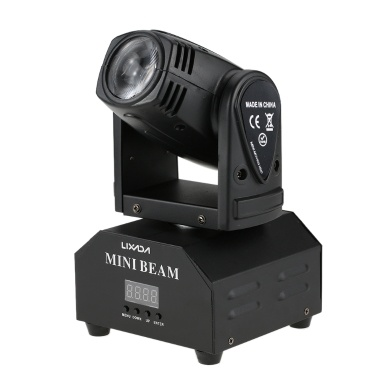 77% off Lixada 50W LED Rotating Moving Head RGBW Beam Stage Effect Lamp,limited offer $49.99