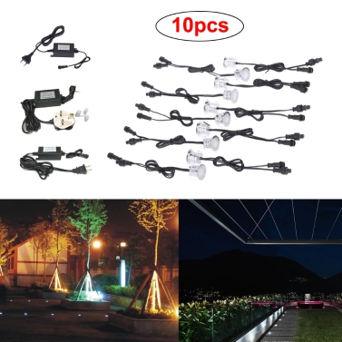 10PCS 0.6W 500LM SMD2835 32mm LED Deck Spotlights