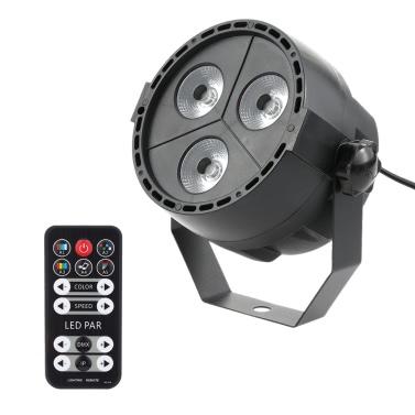 Tomshine 15W 3 LEDs 8 Kanäle RGBP 4-in-1 Waschwirkung Stage Par Light