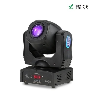 Tomshine 80W Sound Control 8 Colors LED Stage Light