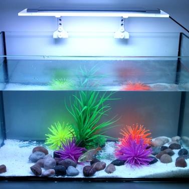 Tomshine Aquarium Light SMD5050 Ultra Thin RGB LED Multi Color Changing  with IR 24 Keys Remote Control Flash Strobe Fade Smooth Visual Effect for Tank