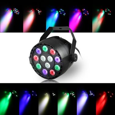 52% OFF 20W 12 LEDs Dream RGBW DMX512 Par Stage Light,limited offer $12.99