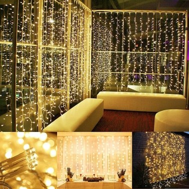 48% OFF Tomshine 200LEDs 6W 23m/75.5ft Eight Lighting Effects String Light,limited offer $12.99