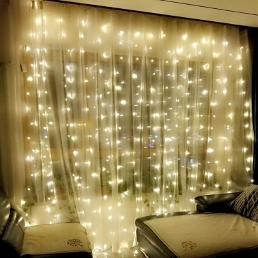 71% OFF 3*3 Meters 300 LEDs Curtain Ligh
