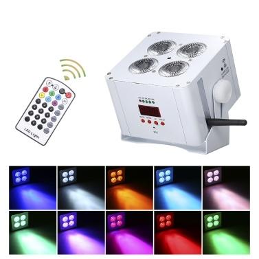 AC100-250V 75W 6 in 1 LEDs RGBWAP Mischfarbe Bühnenlicht