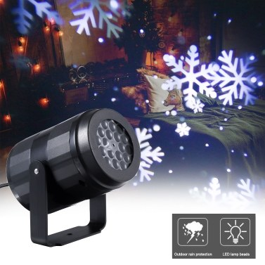 Outdoor Moving Led Light Projector Landscape Lamp Christmas Decoration