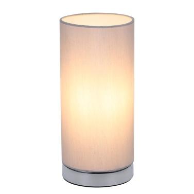 Touching Control Tischleuchte Nachttisch 3-Wege Dimmbare Schreibtischlampe (Glühbirne im Lieferumfang enthalten)