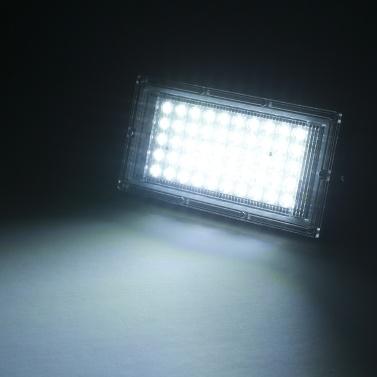 AC175-265V 50W portátil de poupança de energia ao ar livre lâmpada de projeto-luz