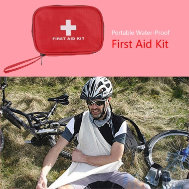 Outdoor Travel Contain 40pcs medical First Aid kit bag