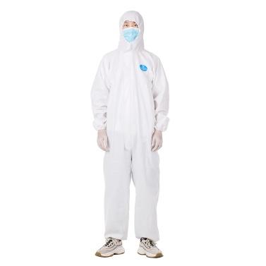 Комбинезон Одноразовый изолирующий костюм Предотвращает вторжение персонала Защитная одежда Пылезащитный комбинезон Антистатический