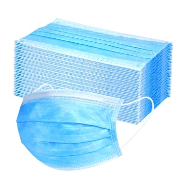 50PCS Disposable Face Cover