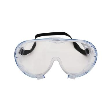 Schutzbrille Wiederverwendbare Entlüftung Wiederverwendbare transparente klare Anti-Fog-Staubschutzbrille
