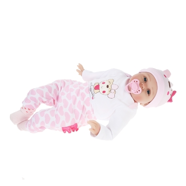 Silicone Reborn Baby Doll 22inch 55cm Lifelike Cute Girl Gifts Toy