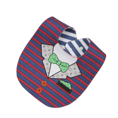 Schöne Speichel Handtuch vier wasserdichte Baby Lätzchen