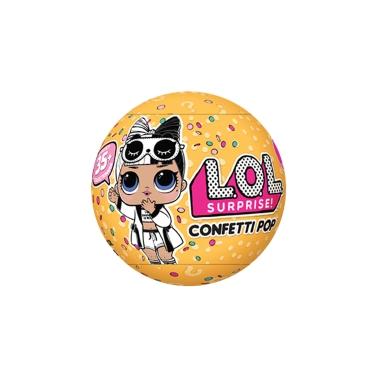 12% de rabais pour 9Cm 1Pcs LOL Surprise! Confetti Pop Series 3 Wave 2 Toy seulement 6,13 €