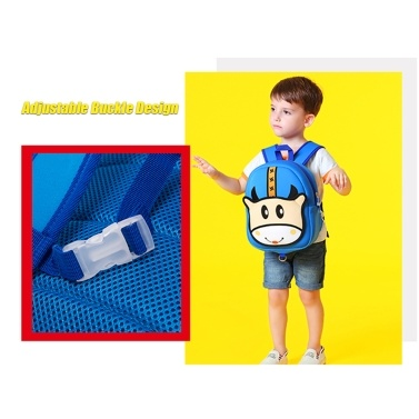 Children Bag Lovely Cartoon Kindergarten Travelling Backpack Outdoor Towing Belt Prevent Kids Getting Lost Schoolbag