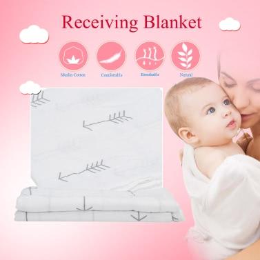 Baby-Kind-Fisch-Art Baumwolle Swaddle Tuch Empfang Decke