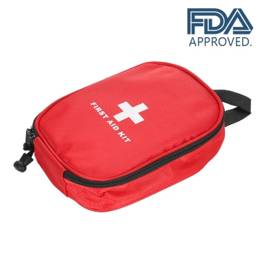 Carevas Water-Proof First Aid Kit  Contain 31pcs medical first-aid supplies