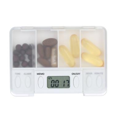 Decdeal smart Erinnerung Medizin-Box Nehmen Sie Medizin auf Zeit Store Pillen