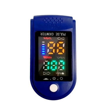 Fingertip Pulse Oximeter Blood Oxygen Saturation & Heart Rate Detection