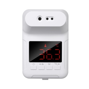 Non-contact IR Infrared Sensor Forehead Hanging Thermometer LED Display Temperature Measurement