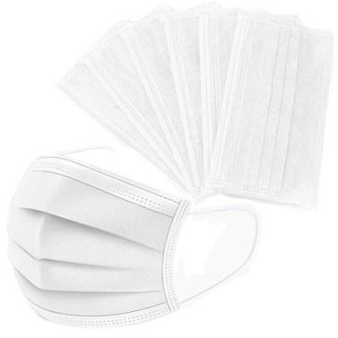 50 PCS Máscara Facial Descartável Anti PM2.5 Máscara Anti Particle Máscara de Boca À Prova de Poeira Respirável
