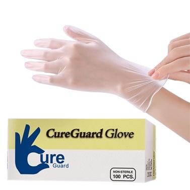 APIYOO 100PCS Einweg-PVC-Handschuhe