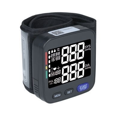 U621 Automatic Wrist Blood Pressure Monitor Digital Blood Pressure Meter