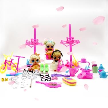 98pcs Mignon et pratique Baby Doll Play House Accessoires Kit seulement € 5.15