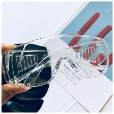 Schutzbrille Anti-Spucke Anti-Apatter UV-Schutz beschichtete Klarglas-Schutzbrille Persönliche Schutzausrüstung Outdoor Anti-Fog Transparente Brille
