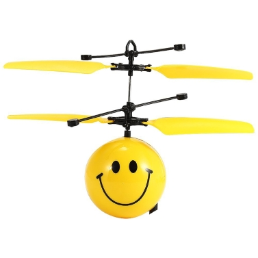 Flying Balls Electronic Infrared Induction Aircraft Toys LED Light Mini Helicopter With Remote Control For Kids