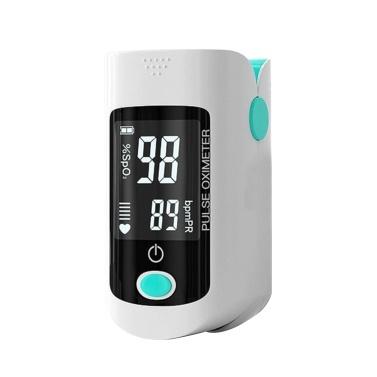 Pulsioxímetro de dedo, saturación de oxígeno en sangre, monitor de SpO2 y PR 8S, medición rápida