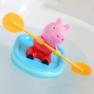 63% OFF Peppa Pig Rowing Bathing Water Boat Toy,limited offer $12.99