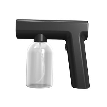 屋外屋内消毒ガン、ハンドヘルドブルーライトワイヤレスポータブル充電式ナノアトマイザー大容量ULV電気噴霧器ノズル調整可能なフォガー