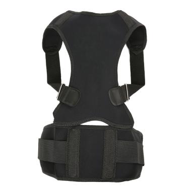 Körperhaltung Korrektor Rückenstütze für Männer und Frauen Verstellbare Schlüsselbein Unterstützung zur Verbesserung der Haltung Schmerzlinderung Lordosenstütze