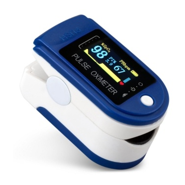 TFT Display Fingertip Oximeter B-lood Oxygen Pulse Rate Monitor Portable Family Travel Oximeter