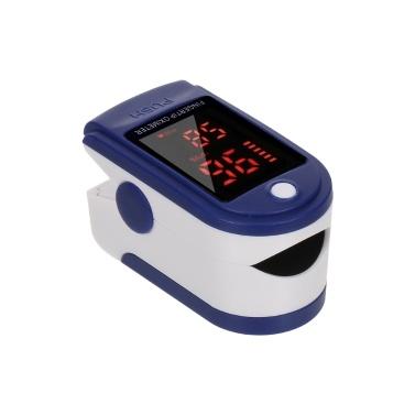 Saturimetro digitale da polso Sensore di ossigeno nel sangue Saturazione Mini SpO2 Monitor Misuratore di frequenza del polso per viaggi sportivi domestici
