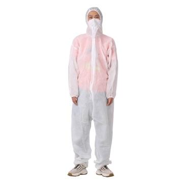 (Nicht sterile) Einweg-Isolationskleider tragen alle Rohstoffe für die allgemeine Isolierung in der Abteilung für ambulante Inspektion von medizinischen Einrichtungen