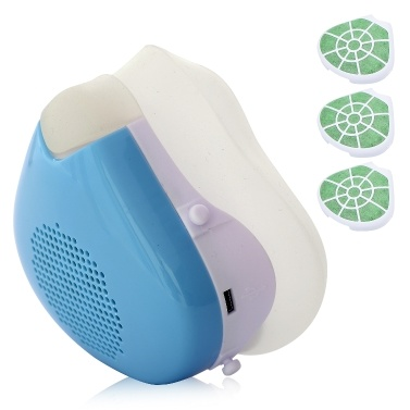 Mascarilla eléctrica Respirador 3 velocidades Purificador de aire Máscara a prueba de polvo Mascarilla facial antihumedad