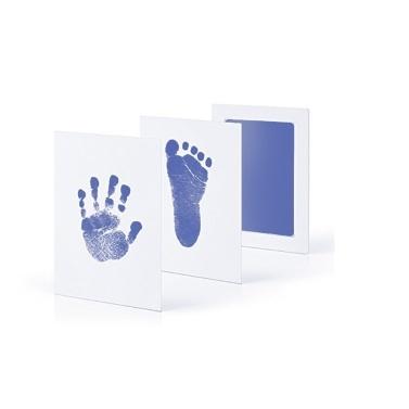 Neugeborenes Baby Handprint Inkless Touch ungiftig Stempelkissen